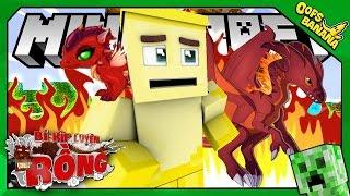 RỒNG LỬA ĐỐT NHÀ (Minecraft Bí Kíp Luyện Rồng #10)