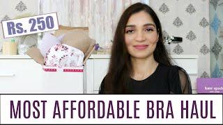 MOST AFFORDABLE BRA HAUL Rs.250 | Affordable Lingerie Haul | Shyaway Bra Haul | Tanu Gupta
