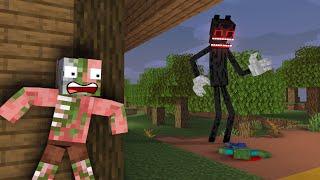 Monster School : CARTOON CAT CHALLENGE - Minecraft Animation