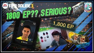 ~1800 EP player lol~New Year Premium Lottery Opening - FIFA ONLINE 3