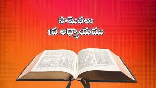 Proverbs (సామెతలు)_ The Holy Bible audio in telugu