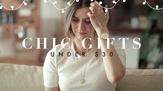 Gifts Under $30 & Stocking Stuffers Gift Guide For Women
