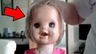 5 Creepy Dolls MOVING : Top 5 HAUNTED Dolls Caught On Tape !