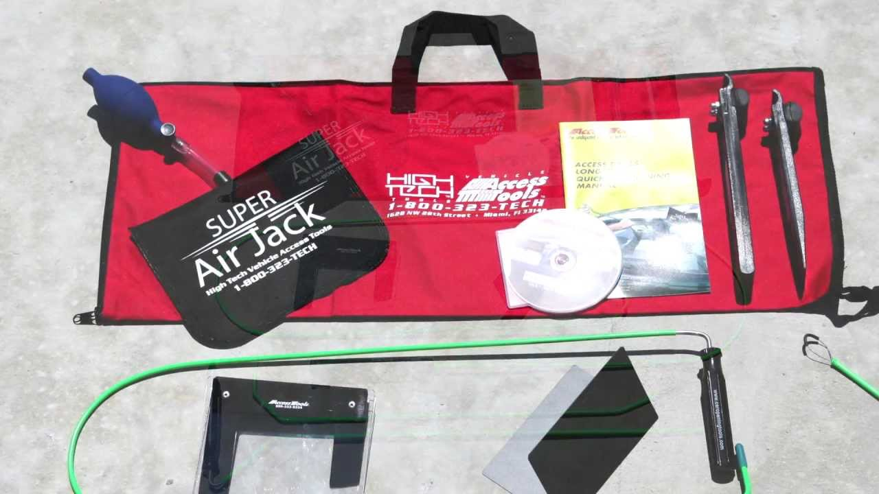 Lock Out Kit For Cars >> Access Tools - Emergency Response Kit (ERK) Unlock Cars in an Emergency - YouTube