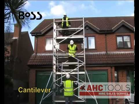 Youngman BoSS Towers - AHC Tools (Alloa Hire Centre)