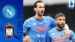Napoli 4-3 Crotone | Mertens Strikes Again in 7-Goal Thriller! | Serie A TIM
