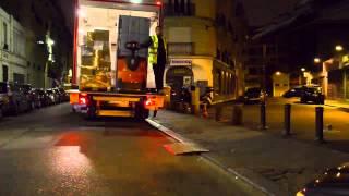 Camion gaz Scania Euro 6 chez Biocoop