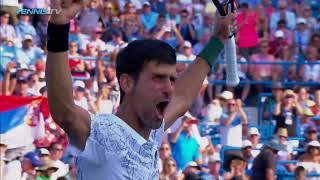 Djokovic Defeats Federer for Cincy Title and Masters History | Cincinnati 2018 Final Highlights