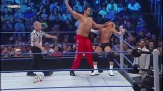 WWE Smackdown 23/3/12 Dolph Ziggler vs The Great Khali
