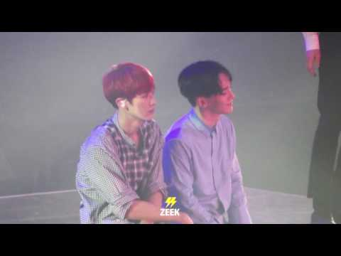 160723 [The EXO'rDium] Chanyeol&Chen-시선 둘 시선 하나