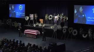 Hear fallen Davis Police Officer Corona's official end of watch