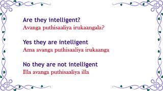 Spoken English through Tamil - Daily English -183