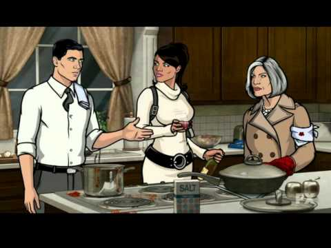 Archer: The Drinking Game. With on screen cues when the rules happen.,
