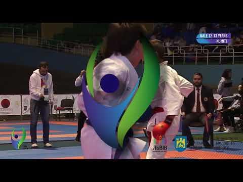 International Lviv Cup male 12-13 years -42 kg Panchuk Artem final (sportclub Tigrenok)