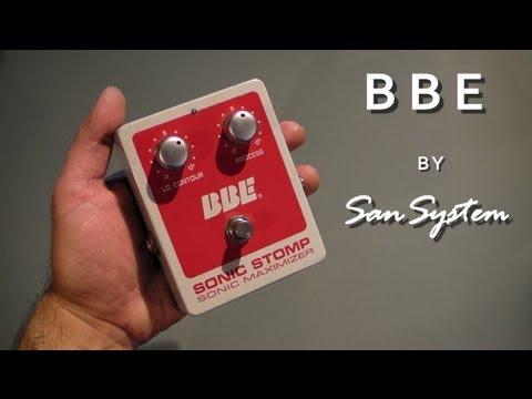 BBE Sonic Maximizer (Sonic Stomp)