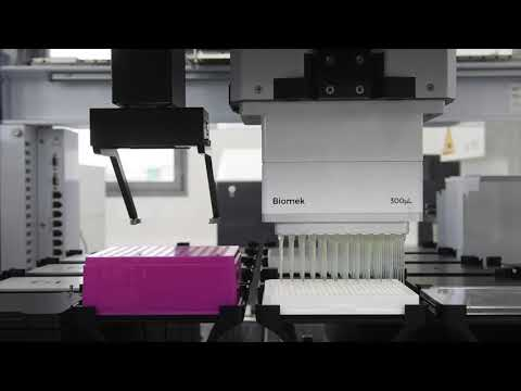Cannabics Pharmaceuticals Automated Robotic High Throughput Screening Facility in Rehovot, Israel