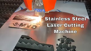 500W Fiber Laser Cutting Machine for Metal Sheet - Stainless Steel Laser Cutting Machine -Brand MVD