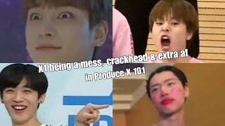 """X1 being a mess, crackhead & extra af in """"Produce X 101"""""""