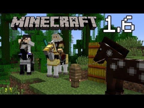 minecraft 1.6 - les nouveautés