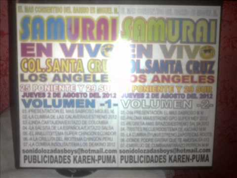 Sonido Samurai - Gracias Amor - Barrio De Santiago - 25 Julio - 2012