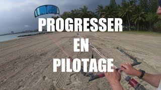 Cours de kitesurf - progresser en pilotage - One Launch Kiteboarding #tuto60