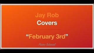 February 3rd Jorja Smith Piano Tutorial
