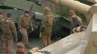 DFN:2nd Tank Battalion Recovery Trident Juncture 18 NORWAY 10.26.2018