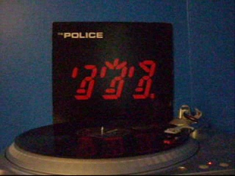 ([STEREO])Spirits in the Material World - The Police VINYL