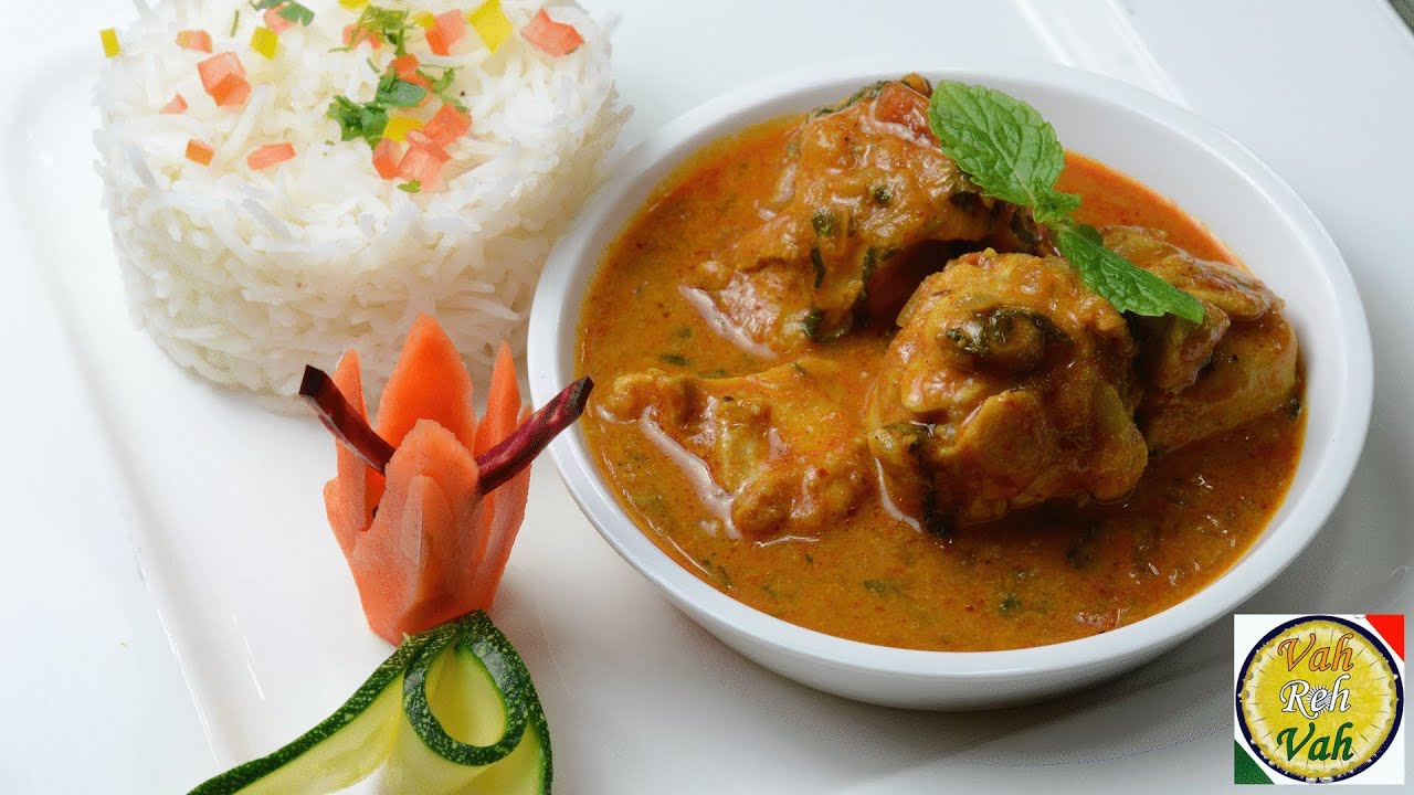Easy Chicken Curry With Onion Tomato Gravy - By VahChef ...