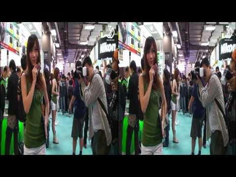 [3DHV] 2010影音器材展SnowGirl
