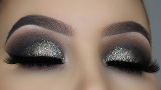 THE NEW ABH SULTRY PALETTE | Smokey Glitter Eye Makeup Tutorial