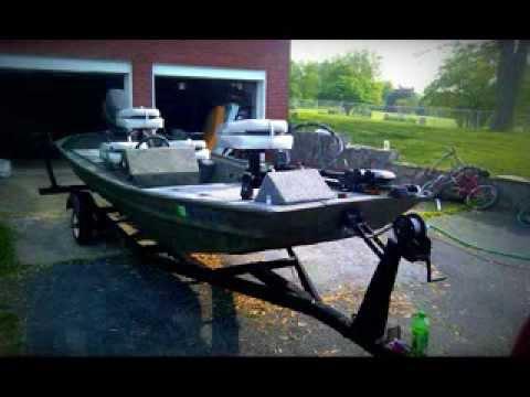 16ft Jon Boat Conversion Youtube