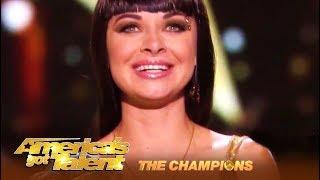 Kseniya Simonova: Sand Artist BEAUTIFUL Story Telling Final Performance | AGT Champions