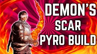 Dark Souls 3 - Demon's Scar PvP Pyromancy Build - The Ringed City DLC