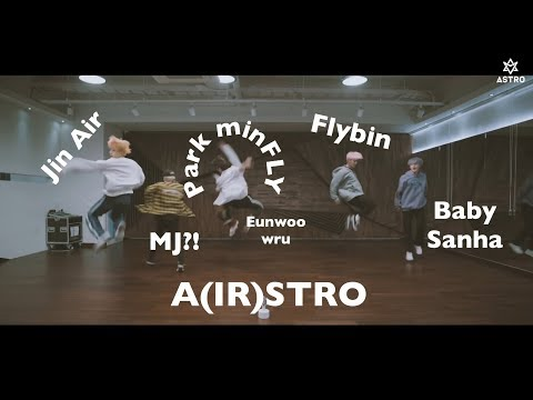 ASTRO's All Night -  What You Didn't Notice (dance practice)
