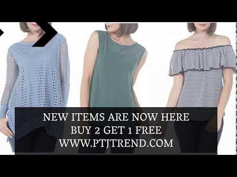 Go for PtjTrend trendy,designer fashion tops for woman.