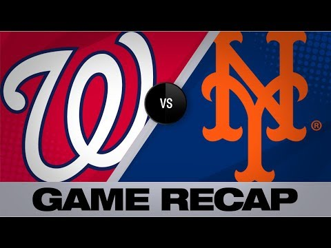 Davis, Guillorme help Mets rally past Nats | Nationals-Mets Game Highlights 8/10/19