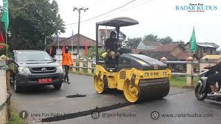 Duh, Jalan Rusak di Jepara cuma Ditambal Sulam