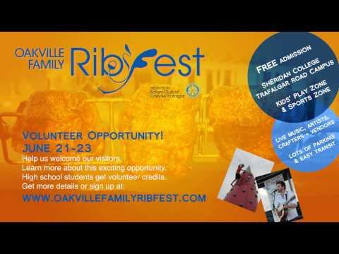 Oakville Family Ribfest 2013
