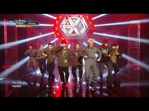 뮤직뱅크 - EXO, 더 강렬하게 돌아왔다! 'Monster'.20160610