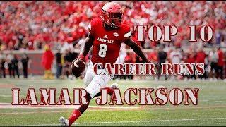 Top 10: Career Runs of Lamar Jackson