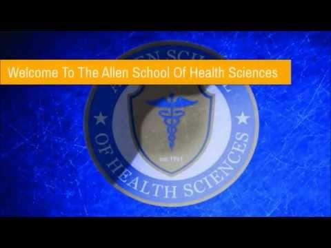 Allen School of Health Sciences 2015 Valedictorians