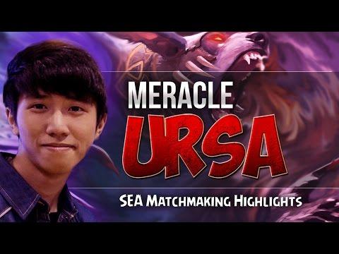 Meracle Ursa Highlights SEA Dota 2 Matchmaking