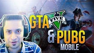 GTA 5 ROLE PLAY & PUBG MOBILE PAKISTAN/INDIA - LIVESTREAM 🎮