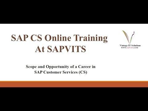 SAP CS Online Training in Bangalore | SAP CS Training Videos