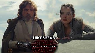 "Star Wars The Last Jedi Trailer ""It Didn't Scare Me Enough Then, It Does Now"" Luke & Rey"