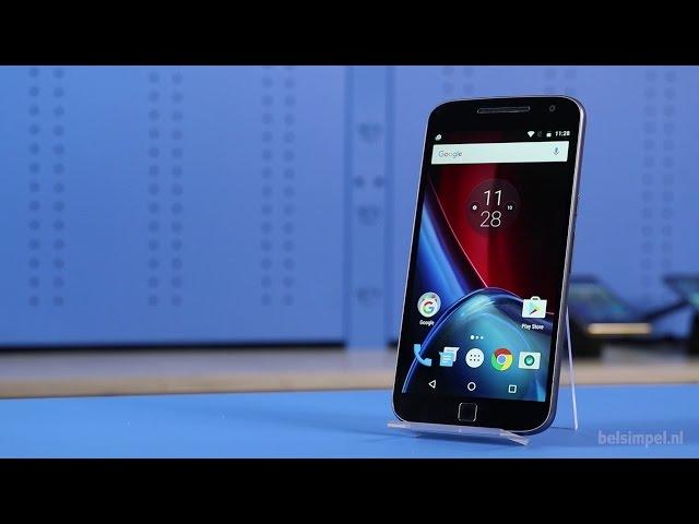 Belsimpel-productvideo voor de Motorola Moto G4 Plus