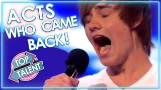 Acts Who CAME BACK! Part One | Top Talent