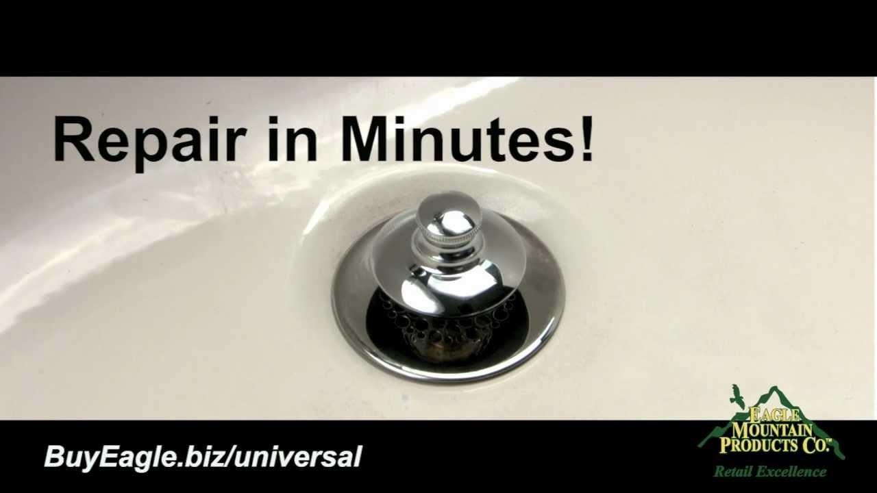 Bathtub Stopper Amp Drain Installation Universal Nufit