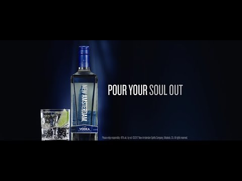 Pour Your Soul Out | New Amsterdam Vodka - Full Length